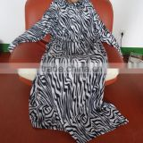 Zebra Printed Soft Polar Fleece Blanket with Pockets for Adult, Travel, Blanket with Sleeves