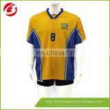 2017 new design polyester Football Jerseys in sublimation jersey