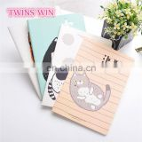 2018 Spain popular fancy stationery wholesale manufacture of school fashion animal design colorful paper notebooks