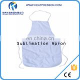 Sublimation cheap wholesale custom promotion apron