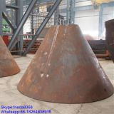 steel cone pressure vessel head 60 non - flanging Double conical/cone head