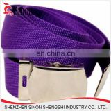 brand name designer fashionable webbing woven tape with buckle