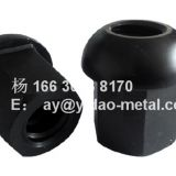 M15-50 carbon steel Spherical Nut and domed achor nut and anchor plate used for hot rolled threaded steel bar