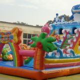 Factory Wholesale Large Ocean Inflatable Bouncer Castle Jumping Bounce Castle