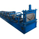 Color Steel Metal Roof Ridge Cap Tile Cold Roll Forming Machine