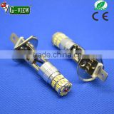 super power stop/brake/parking/tail/reverse/back-up/turn light Auto LED light H1/H3 36smd 3014