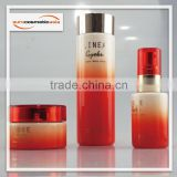 EQUE luxury Skin care body lotion high quality cosmetic 30ml 50ml OPAL GLASS Bottle and Jar