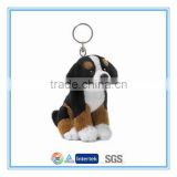 Plush toys with key ring mini dog toys