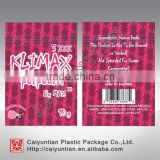10g Herbal incense klimax 3xxx potpourri bags with top zip