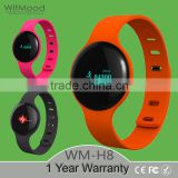 "Witmood 2016 H8 round 0.66"" OLED bracelet wristband,ladies bracelet wrist watch wtih fitness tracker                                                                         Quality Choice"
