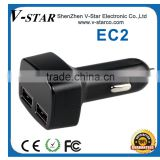 dual port car usb charger wholesale for cell phone charger