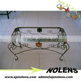 Antique Wrought Iron Ornaments Metal Table Wrought Iron Table
