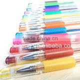 36 colored gel pen set,36 coloring gel pen set,amazon gel pen supplier
