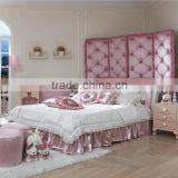 Hot selling pink princess bed girls bed kids bedroom furniture set A03                                                                         Quality Choice