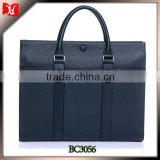 Leather attache case Portfolio for men Business Case Bag                                                                         Quality Choice