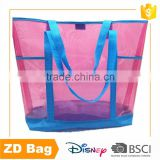 New Fashion Style High Quality Transparent PVC Handle Shopping Bag