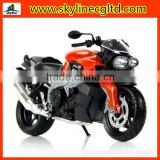 Wholesale die cast simulation motorcycle models,small metal toy motorcycle,free wheel 1:12 alloy motorcycle with models toys