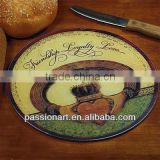 Decor Glass Cutting Board Home Decor Round Shape