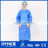 Open Back Thumb loop Disposable Nonwoven Surgical Gown/Isolation Gown