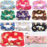 baby girl butterfly headbands - flashing knitted bow headband hair accessories wholesale
