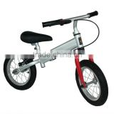 2 wheels Kids running bike with brake & baby carrier bicycle & baby product