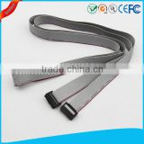 Electrical 16 pin IDC connector flat ribbon cable 2.54mm pitch idc flat cable for computer or electronic appliance