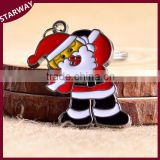 Wholesale SW17061 New popular Christmas gift Santa Claus Keychain
