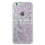 Aikusu Fashionable design mobile phone decoration crystal glitter gel case for Iphone 6/6S