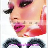 Best selling premium quality siberian mink fur strip lashes with OEM box                                                                         Quality Choice