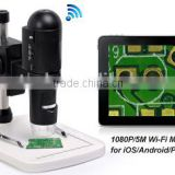 PCB inspection digital microscope 1080P Portable HD wifi digital microscope pcb WiFi USB Video Microscope factory provived