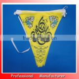 Saudi Arabia flag,triangle flag,hanging bunting pennant wholesales manufacturer