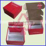 Customized glossy lamination two lattice Cardboard Packaging Boxes with offset full print