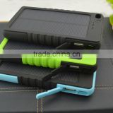 2015 new innovative high quality monocrystalline portable LED indicator slim mini portable solar panel charger