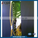 Portable Eco Bamboo Outdoor X Banner Stand 60x160 80x180