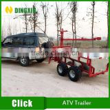 2016 HOT! Car and Atv tow behind trailer for log