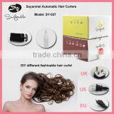 electric home use personal automatic ceramic steam hair curler iron rotating hair styler machine