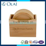 luxury eco-friendly bamboo tissue box