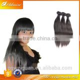 Hot Sale Triple Drawn Machine Weft Silky Straight Hair Bundles100% Virgin Hair Remy Hair