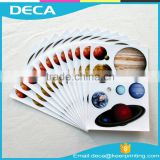 High Quality removable sticker printing repositionable vinyl sticker full color pvc sticker