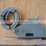 wholesale Aluminium Body hand winch for sale spray-paint color