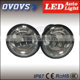 Wholesale 4.5'' 30w motorcycle led fog light without halo/angle eye Jee-p har-ley parts