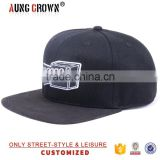 acrylic material snapback caps and hats/fabric material snapbacks/material for snapback cap