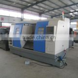 CNC100A double spindle cnc lathe machine/ cnc turning center machine