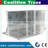 Aluminum Crowd Traffic Barrier Used Crowd Control Barrier For Sale