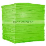 Grass Green 12 Inch Square Premium Chinese Paper Hanging Lantern