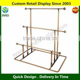 3-Tier Bronze Metal Necklace Bracelet Holder Jewelry Tower Hanger Organizer Display Rack YM5-268