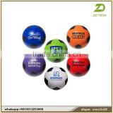 Professional promotional football anti stress ball keyring ZDS2001
