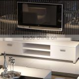 TV-2320 Black or White Gloss TV Stand With Drawers