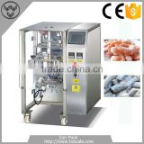 Hot selling frozen food shrimp fish fruit vegetable pouch packaging machine