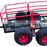 D1105 Black/Red Trail Warrior X4 ATV Utility Trailer